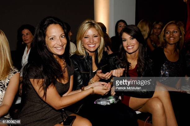 Emma SnowdonJones Ainsley Earhardt and Kimberly Guilfoyle attend PARKCHOONMOO Spring/Summer 2011 Fashion Show at Exit Art on September 9 2010 in New...