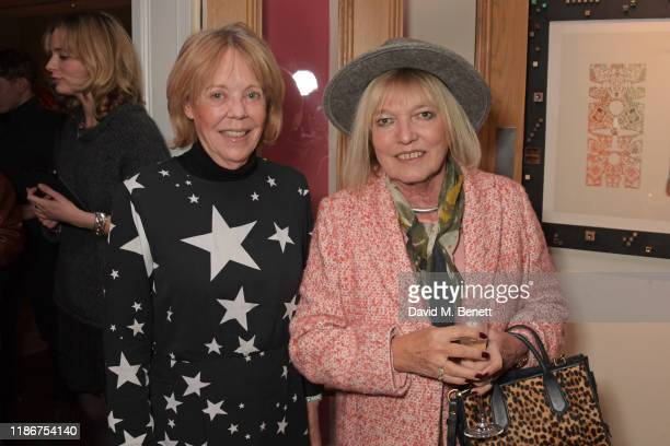 Emma Soames and guest attend a special screening and reception for NETFLIX's Marriage Story hosted by Alfonso Cuaron with Noah Baumbach at The Soho...