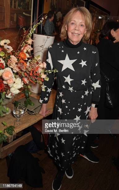 Emma Soames attends a special screening and reception for NETFLIX's Marriage Story hosted by Alfonso Cuaron with Noah Baumbach at The Soho Hotel on...