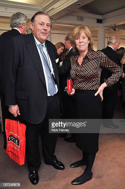 Emma Soames attends the book launch party of David Hockney The Biography by Christopher Simon Sykes at Sotheby's on January 16 2012 in London England