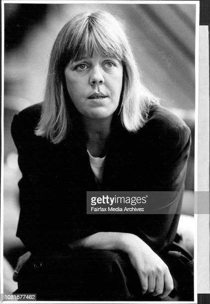 Emma Soames grand daughter of Winston Churchill at the Regent Hotel March 03 1987