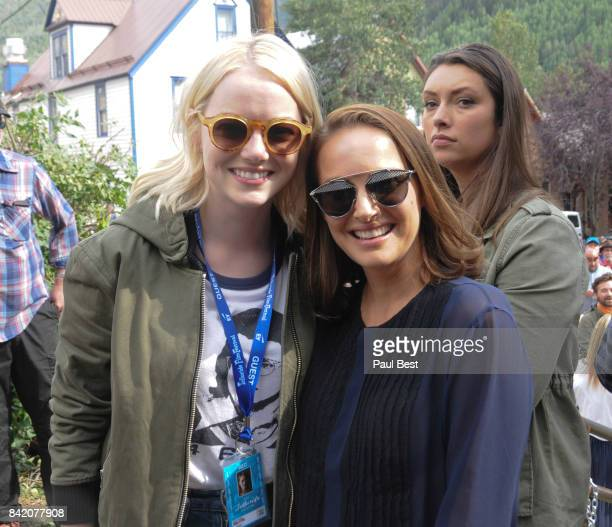 Emma Stone and Natalie Portman attend the Telluride Film Festival 2017 on September 2 2017 in Telluride Colorado