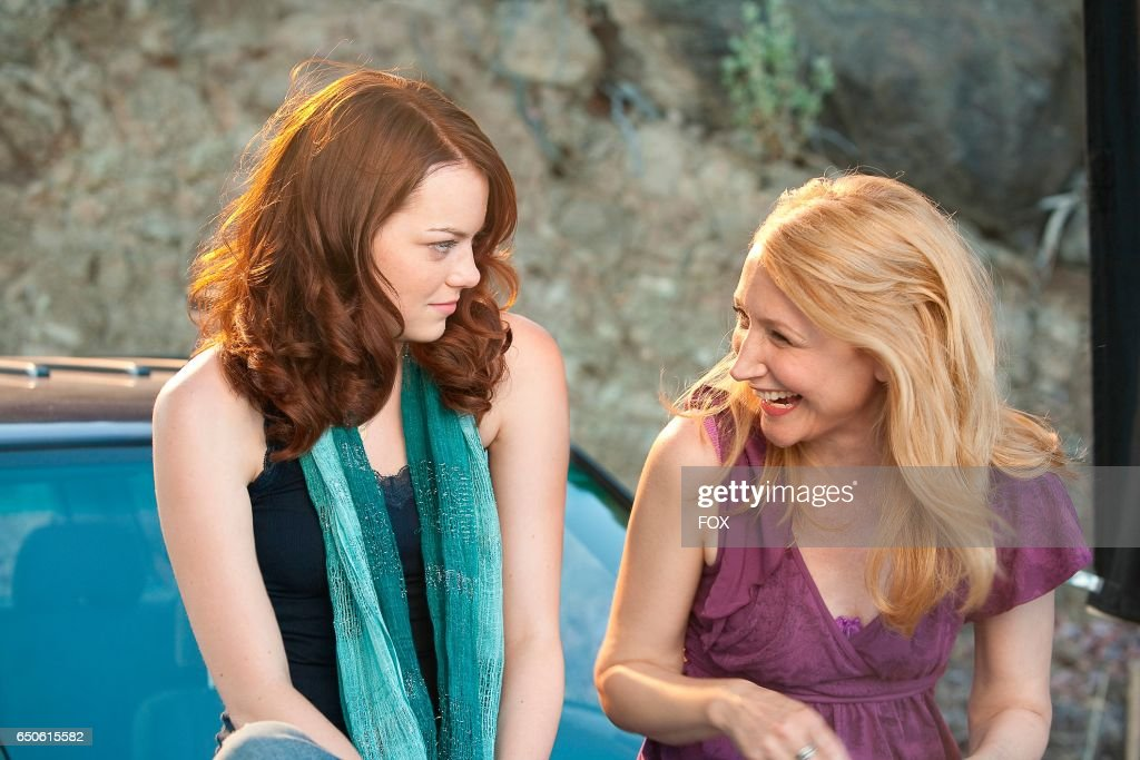 Emma Stone (L) and Patricia Clarkson in the FOX Presents network theatrical premiere of Easy A, airing Friday, May 20 (8:00-10:00 PM ET/PT) on FOX.