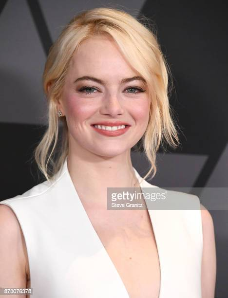 Emma Stone arrives at the Academy Of Motion Picture Arts And Sciences' 9th Annual Governors Awards at The Ray Dolby Ballroom at Hollywood Highland...