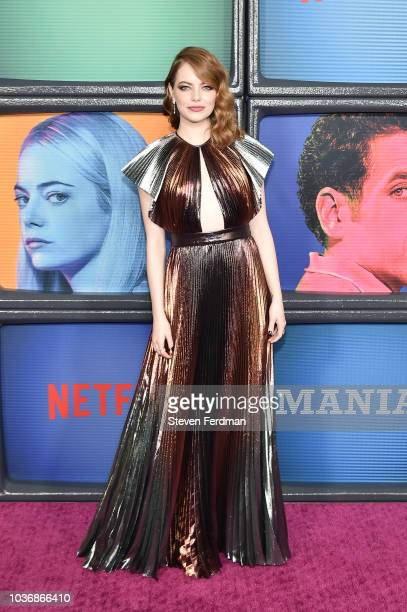 Lev Gorn attends 'Maniac' Season 1 Premiere at Center 415 on September 20 2018 in New York City