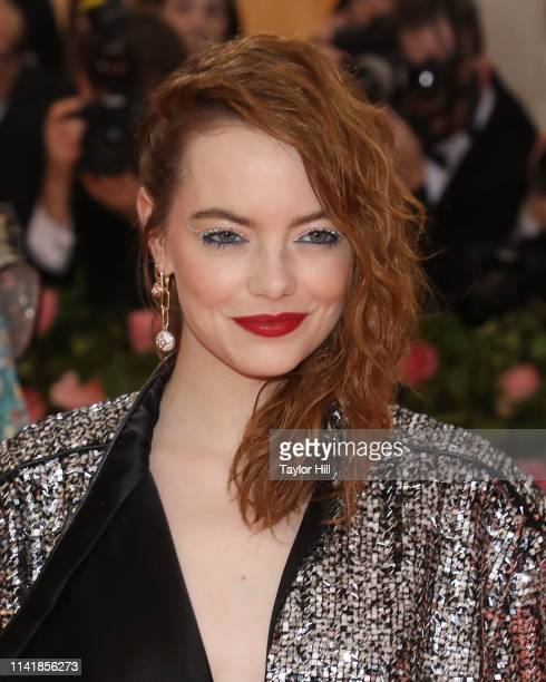 Emma Stone attends the 2019 Met Gala celebrating Camp Notes on Fashion at The Metropolitan Museum of Art on May 6 2019 in New York City