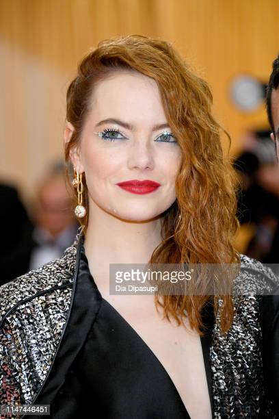 Emma Stone attends The 2019 Met Gala Celebrating Camp Notes on Fashion at Metropolitan Museum of Art on May 06 2019 in New York City
