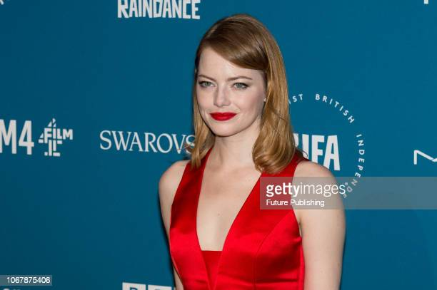 Emma Stone attends the 21st British Independent Film Awards at Old Billingsgate in the City of London December 02 2018 in London United Kingdom
