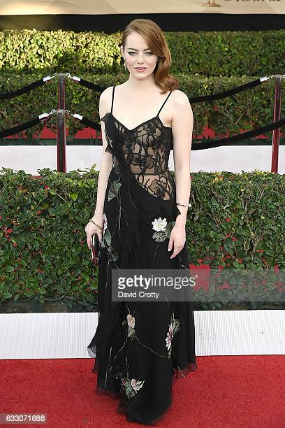 Emma Stone attends the 23rd Annual Screen Actors Guild Awards at The Shrine Expo Hall on January 29 2017 in Los Angeles California