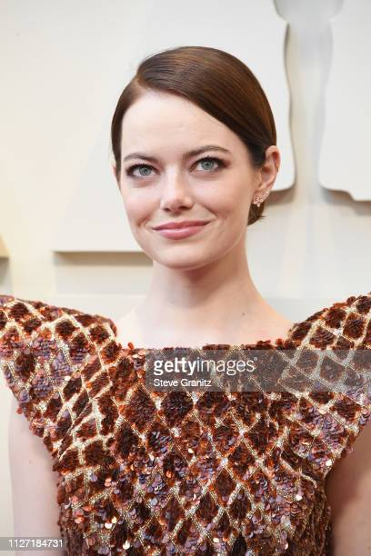 Emma Stone attends the 91st Annual Academy Awards at Hollywood and Highland on February 24 2019 in Hollywood California