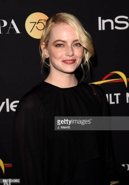 Emma Stone attends The Hollywood Foreign Press Association and InStyle's annual celebrations of the 2017 Toronto International Film Festival at...