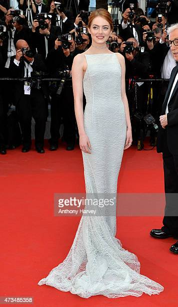 """Emma Stone attends the """"Irrational Man"""" premiere during the 68th annual Cannes Film Festival on May 15, 2015 in Cannes, France."""