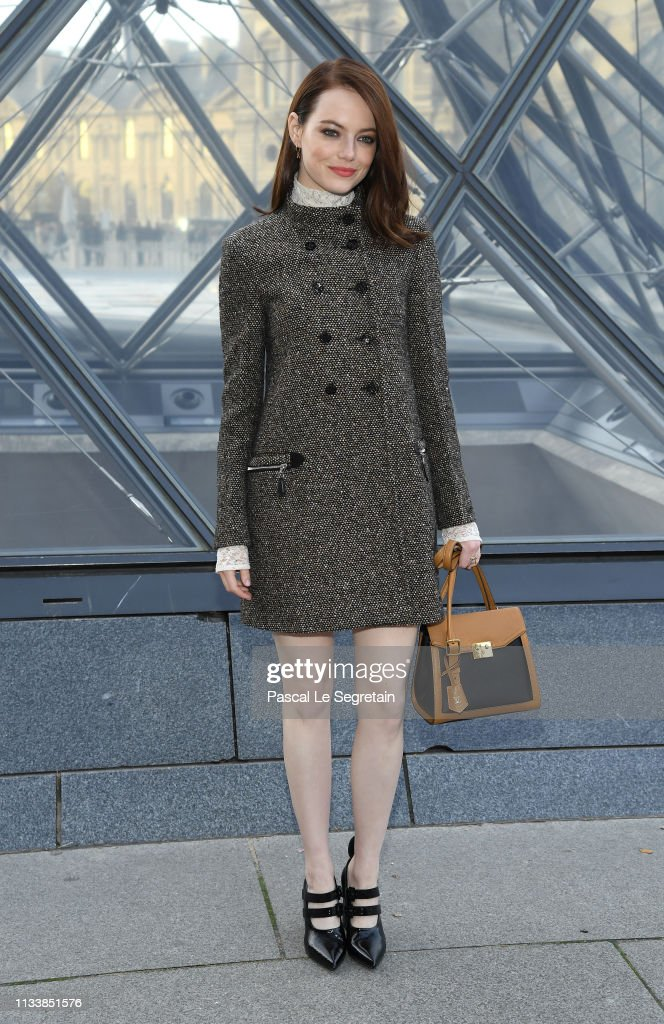 Louis Vuitton : Photocall - Paris Fashion Week Womenswear Fall/Winter 2019/2020 : News Photo