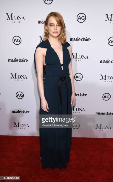 Emma Stone attends the Marie Claire's Image Maker Awards 2018 at Delilah LA on January 11 2018 in West Hollywood California