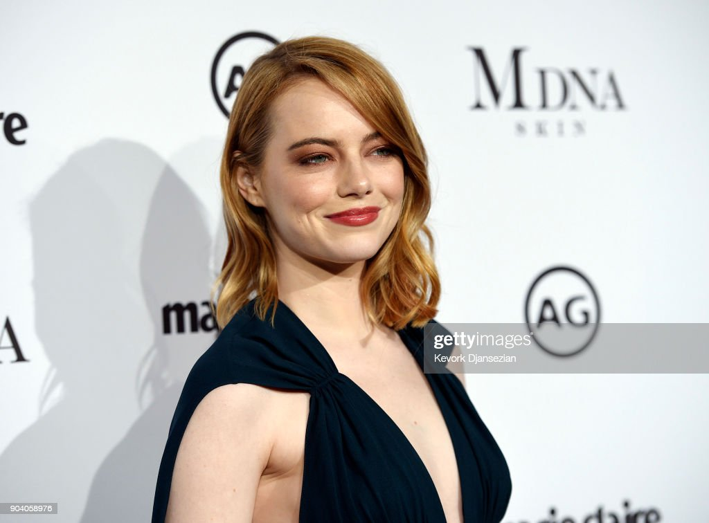 Emma Stone attends the Marie Claire's Image Maker Awards 2018 at Delilah LA on January 11, 2018 in West Hollywood, California.