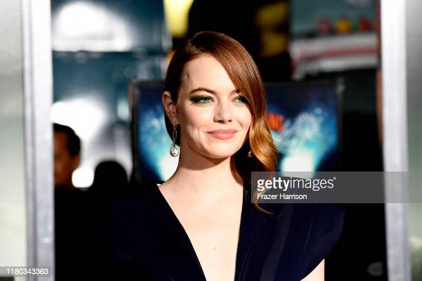 Emma Stone attends the Premiere Of Sony Pictures' Zombieland Double Tap at Regency Village Theatre on October 10 2019 in Westwood California