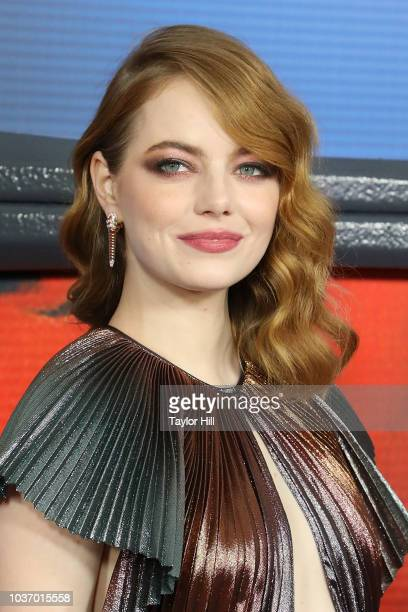 Emma Stone attends the Season One premiere of Netflix's Maniac at Center 415 on September 20 2018 in New York City