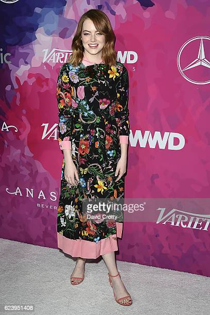 Emma Stone attends the Second annual StyleMakers Awards hosted by Variety WWD at Quixote Studios West Hollywood on November 17 2016 in West Hollywood...