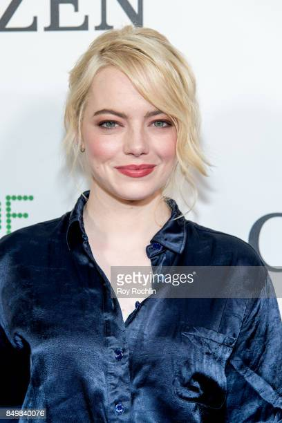 Emma Stone attneds 'Battle of the Sexes' special anniversary screening at SVA Theater on September 19 2017 in New York City