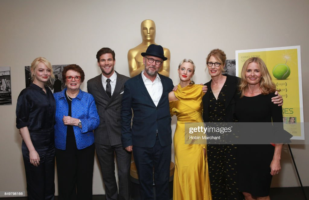The Academy of Motion Picture Arts & Sciences Hosts an Official Academy Screening of THE BATTLE OF THE SEXES : News Photo
