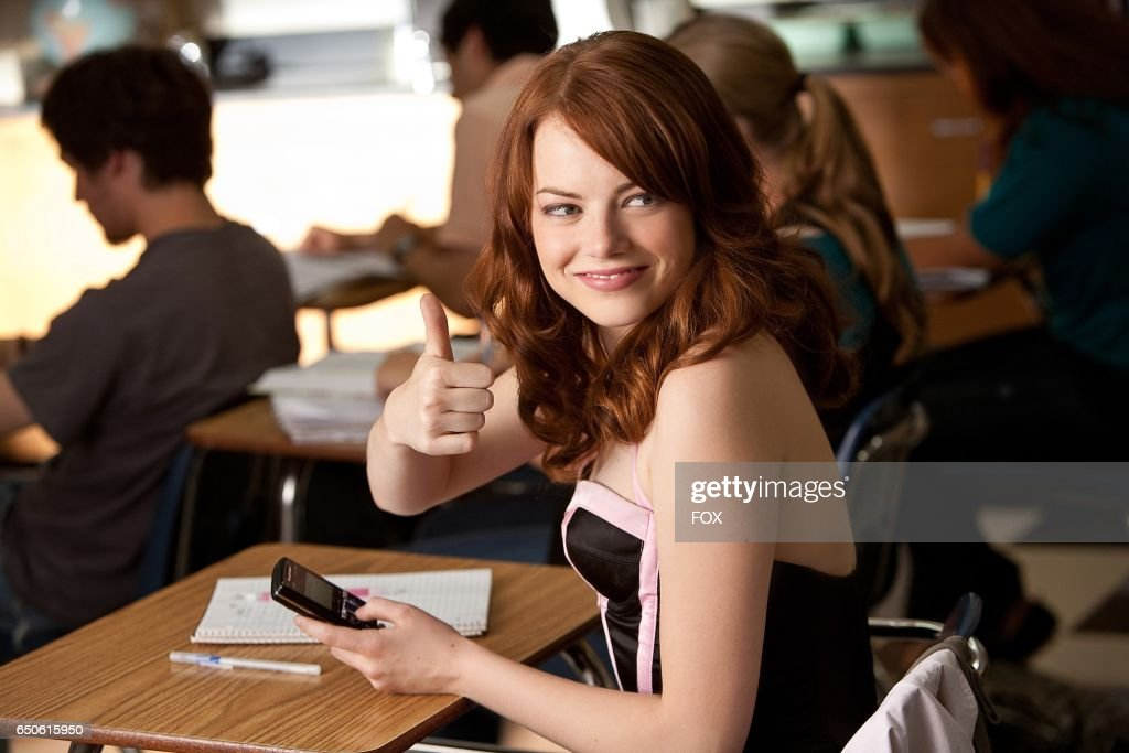 Emma Stone in the FOX Presents network theatrical premiere of Easy A, airing Friday, May 20 (8:00-10:00 PM ET/PT) on FOX.