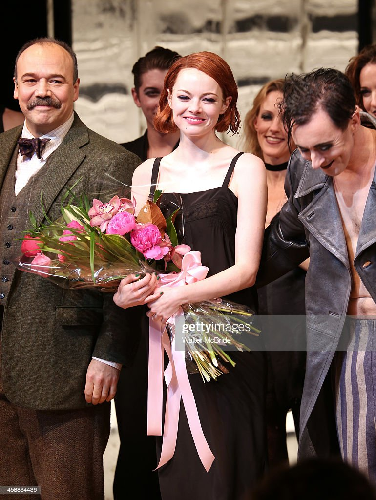 "Emma Stone's Broadway Debut In ""Cabaret"" : News Photo"