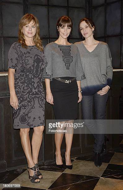 Emma Suarez Maribel Verdu and Ariadna Gil attend a photocall for 'Los Hijos de Kennedy' at CofidisAlcazar Theater on October 9 2013 in Madrid Spain