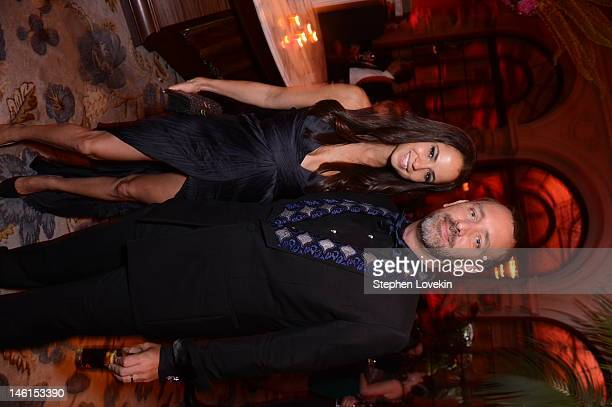 Emma Sugiyama and Tray Parker attend 66th Annual Tony Awards after party at The Plaza Hotel on June 10 2012 in New York City