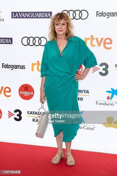 Emma Suárez attends a photocall of the movie 'Una ventana al mar' during the BCN Film Fest at Verdi Park Cinema on June 26 2020 in Barcelona Spain