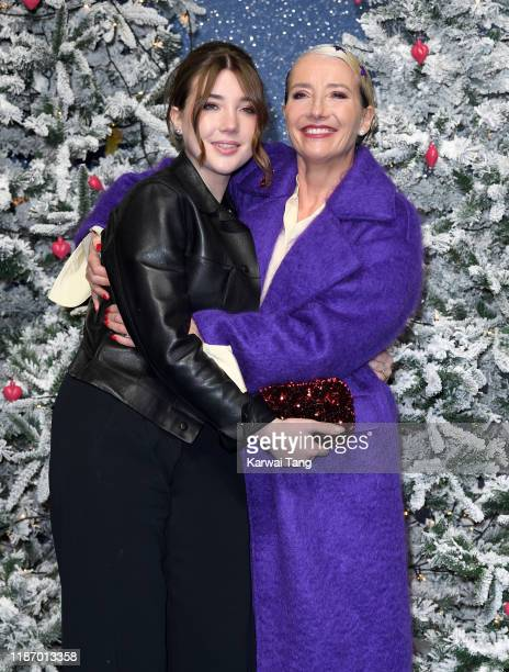 Emma Thompson and daughter Gaia Wise attend the Last Christmas UK Premiere at BFI Southbank on November 11 2019 in London England