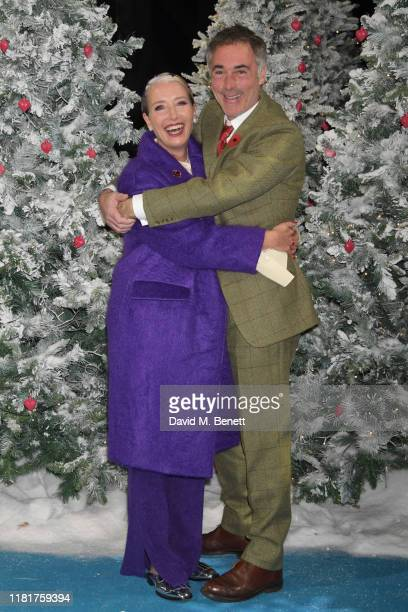 Emma Thompson and Greg Wise attend the UK Premiere of Last Christmas at the BFI Southbank on November 11 2019 in London England