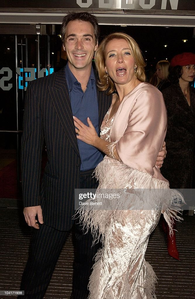 Emma Thompson And Greg Wise, Love Actually Movie Premiere At The Odeon Leicester Square, London