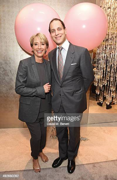 Emma Thompson and Lord Frederick Windsor attend as Boodles celebrates the opening of their new Bond Street flagship with special guest Emma Thompson...