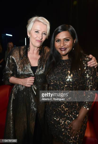 "Emma Thompson and Mindy Kaling attend CinemaCon 2019- Amazon Studios Invites You to an Exclusive Screening of ""Late Night"" at The Colosseum at..."