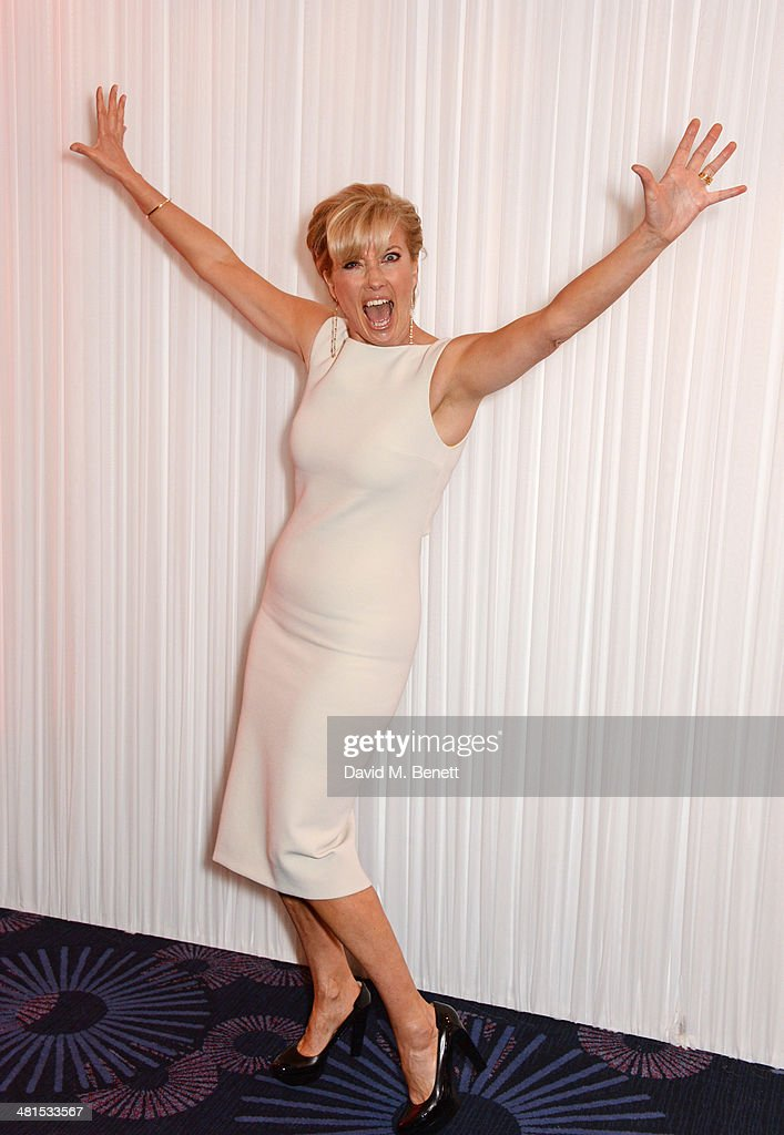 Emma Thompson arrives at the Jameson Empire Awards 2014 at The Grosvenor House Hotel on March 30, 2014 in London, England.
