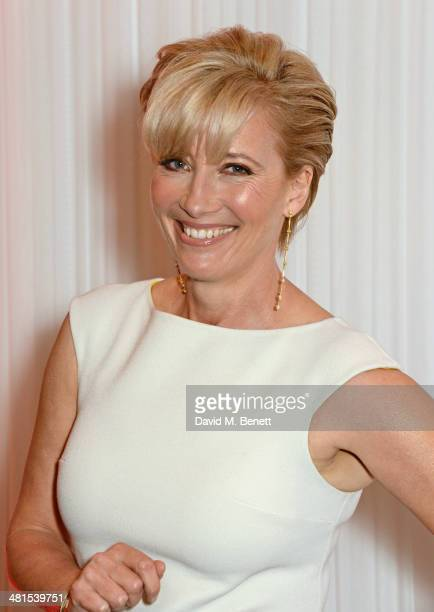 Emma Thompson arrives at the Jameson Empire Awards 2014 at The Grosvenor House Hotel on March 30 2014 in London England