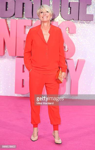 Emma Thompson arrives for the World premiere of Bridget Jones's Baby at Odeon Leicester Square on September 5 2016 in London England