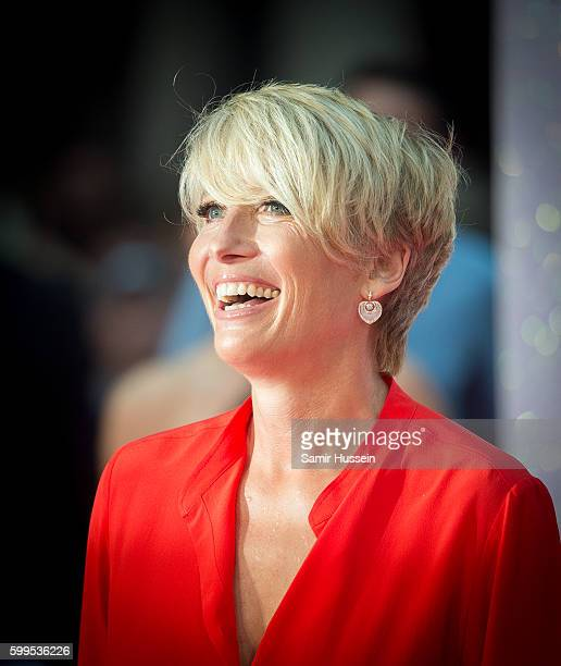 Emma Thompson arrives for the World premiere of 'Bridget Jones's Baby' at Odeon Leicester Square on September 5 2016 in London England