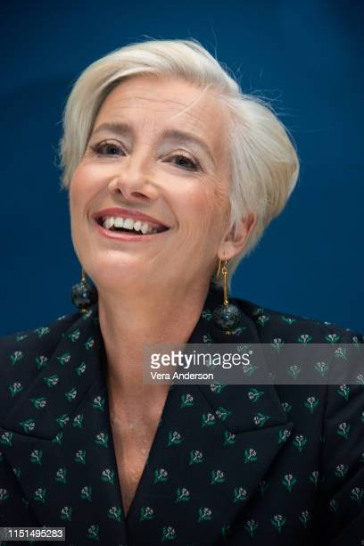 Emma Thompson at the Late Night Press Conference at the Corinthia Hotel on May 20 2019 in London England
