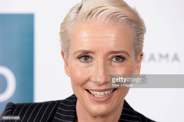 Emma Thompson attends a screening of 'King Lear' at Soho Hotel on March 28 2018 in London England