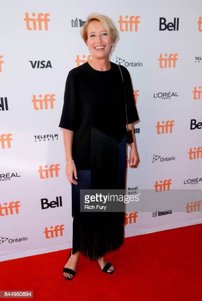 Emma Thompson attends The Children Act premiere during the 2017 Toronto International Film Festival at The Elgin on September 9 2017 in Toronto Canada
