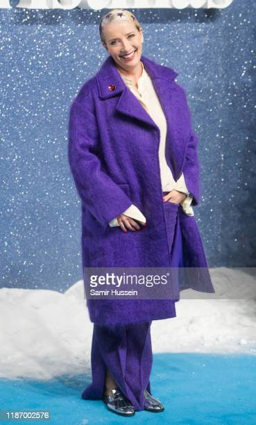Emma Thompson attends the Last Christmas UK Premiere at BFI Southbank on November 11 2019 in London England