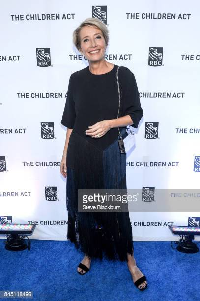 Emma Thompson attends the RBC hosted 'The Children Act' cocktail party at RBC House during the 2017 Toronto Film Festival on September 9 2017 in...