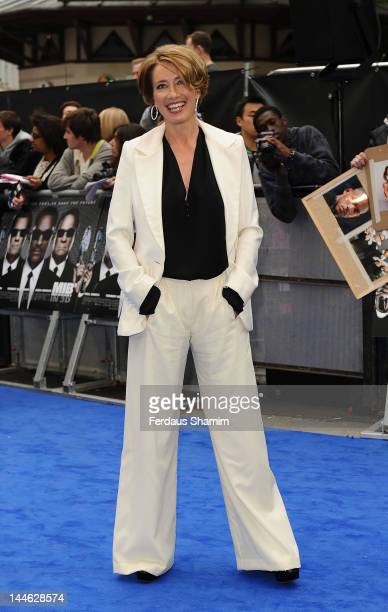 Emma Thompson attends the UK premiere of 'Men in Black 3' at Odeon Leicester Square on May 16 2012 in London England