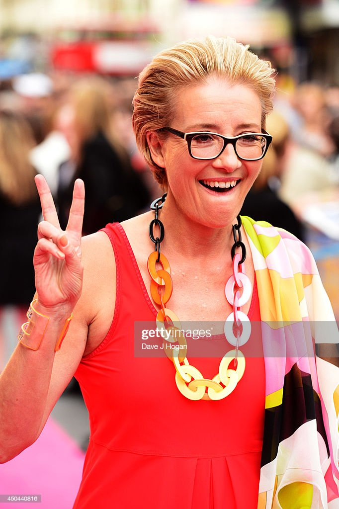 Emma Thompson attends the UK premiere of 'Walking On Sunshine' at The Vue West End on June 11, 2014 in London, England.