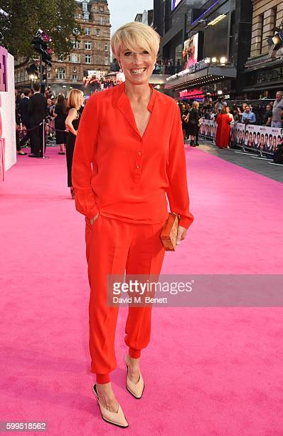 Emma Thompson attends the World Premiere of Bridget Jones's Baby at Odeon Leicester Square on September 5 2016 in London England