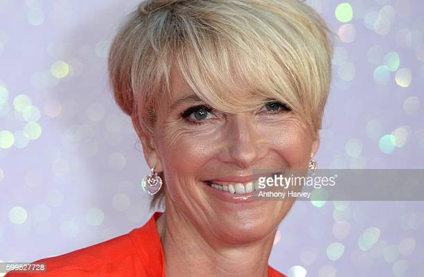 Emma Thompson attends the World premiere of 'Bridget Jones's Baby' at Odeon Leicester Square on September 5 2016 in London England