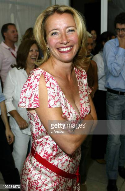 Emma Thompson during 2003 Venice Film Festival 'Imagining Argentina' Photocall at Casino in Venice Lido Italy
