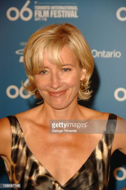 """Emma Thompson during 31st Annual Toronto International Film Festival - """"Stranger Than Fiction"""" Press Conference at Sutton Place Hotel in Toronto,..."""