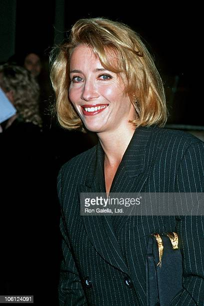 Emma Thompson during Los Angeles Premiere of 'Carrington' at Director's Guild Theater in Hollywood California United States